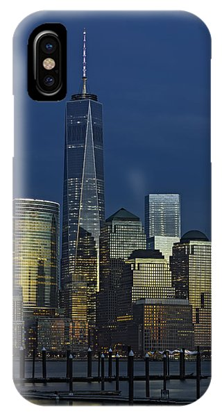 One World Trade Center At Twilight IPhone Case