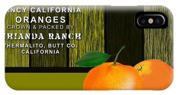 Orange Farm IPhone Case