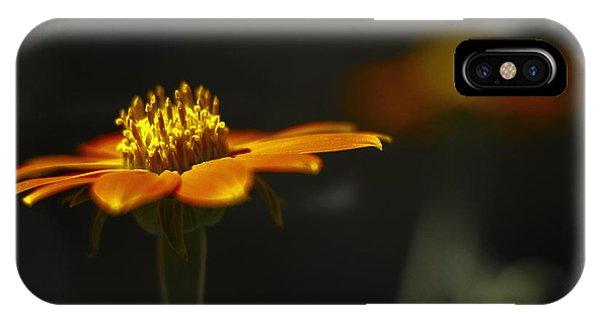 Orange Flower IPhone Case