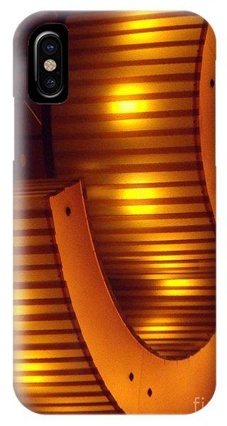 Orange Swirl 9 IPhone Case