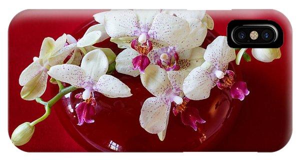 Orchid Center Piece Phone Case by Paul Indigo