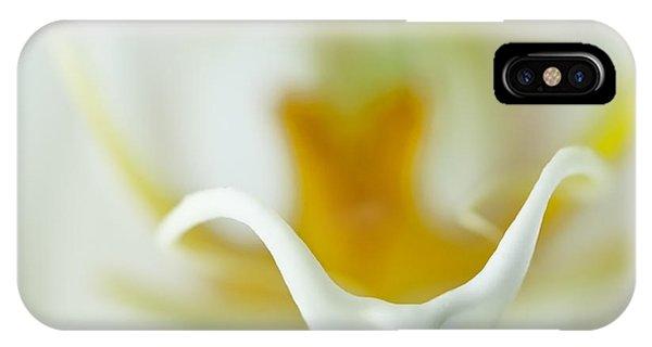 Moth Orchid Macro IPhone Case