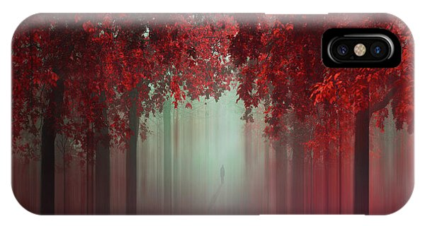 Fog iPhone Case - Out Of Love by Ildiko Neer