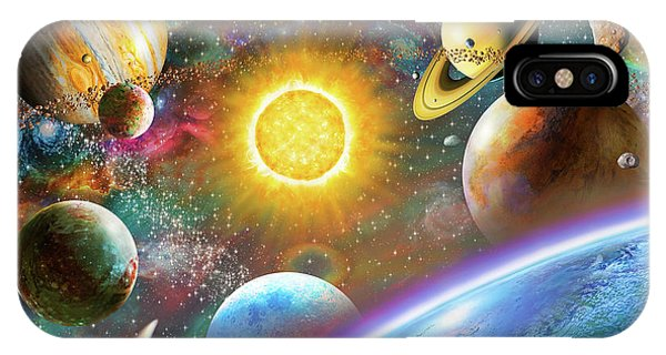 Space iPhone Case - Outer Space by MGL Meiklejohn Graphics Licensing