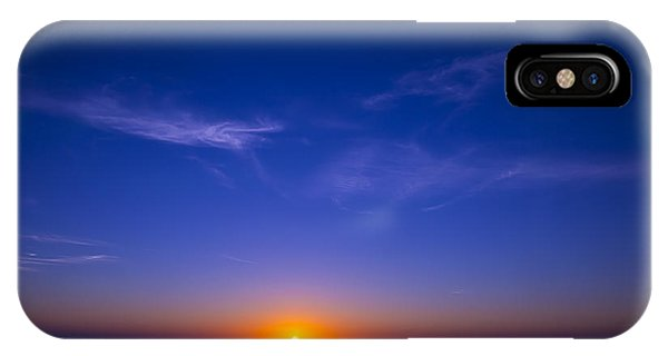 Sun Set iPhone Case - Pacific Sunset by Garry Gay