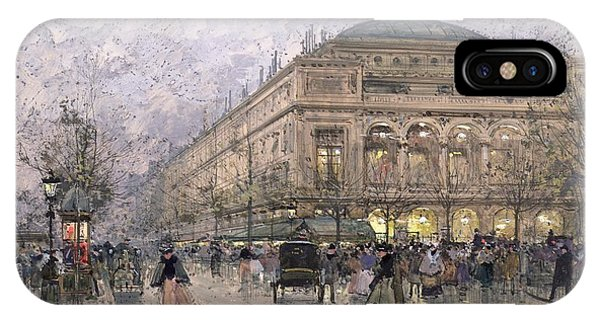 Parisian Street Scene IPhone Case