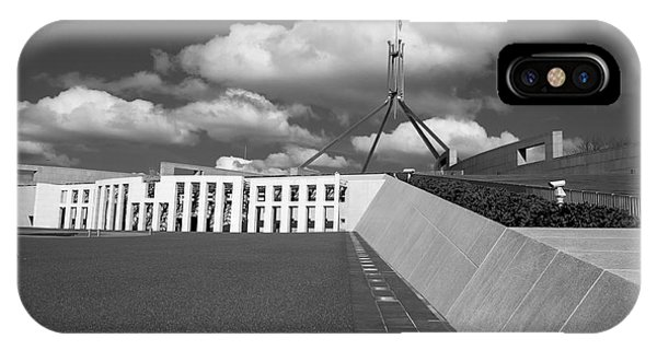 Parliament House Australia IPhone Case