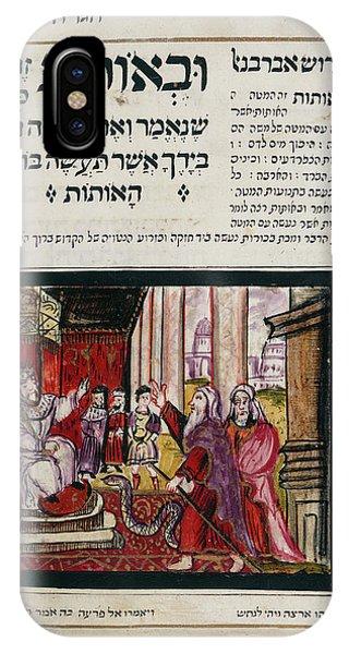 Passover Haggadah IPhone Case