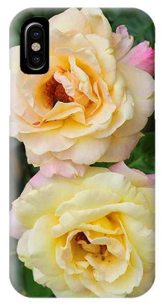 Peace Roses IPhone Case