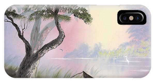 Peaceful Lagoon IPhone Case