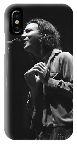 Pearl Jam iPhone Case - Pearl Jam by Concert Photos