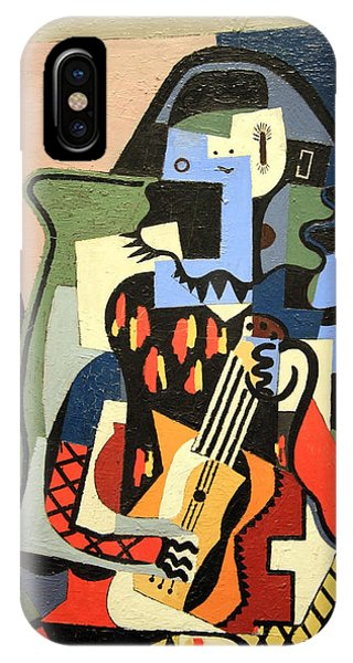 Picasso's Harlequin Musician IPhone Case