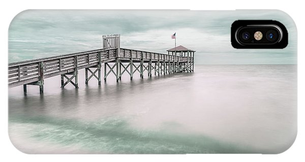 Teal iPhone Case - Pier by Martin Steeb