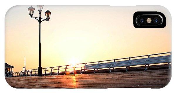 Pier Sunrise IPhone Case