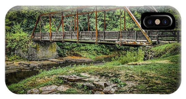 Pine Creek Bridge IPhone Case