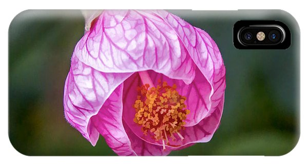 IPhone Case featuring the digital art Pink Hibiscus by Photographic Art by Russel Ray Photos