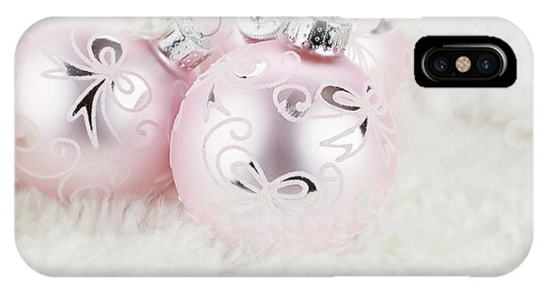 Pink Ornaments IPhone Case