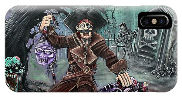 Pirate's Graveyard Phone Case by Laura Barbosa