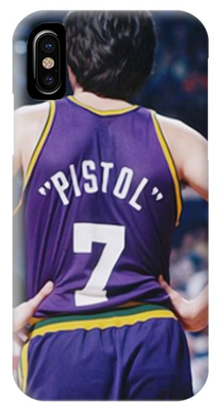 Pistol Pete Maravich IPhone Case