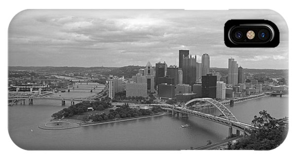 Pittsburgh - View Of The Three Rivers IPhone Case