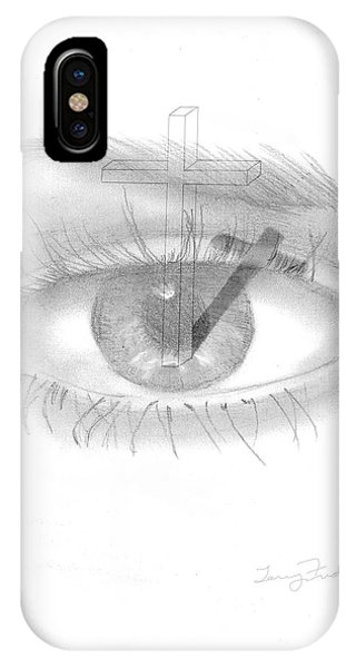 Plank In Eye IPhone Case