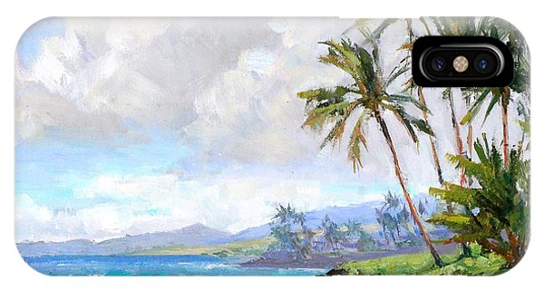 Hawaii iPhone Case - Poipu Beach #1 by Jenifer Prince