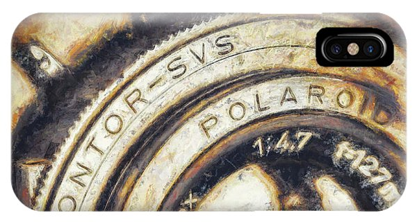 Cameras iPhone Case - Polaroid Pathfinder  by Scott Norris