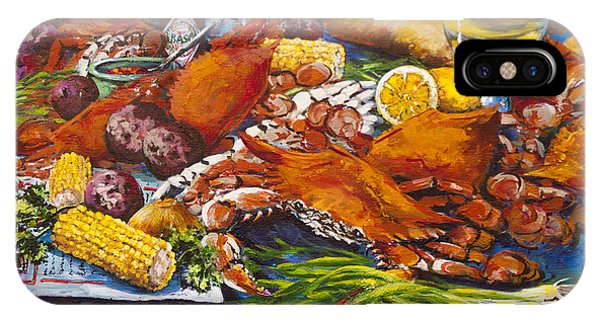 Pontchartrain Crabs IPhone Case