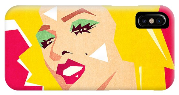 Famous People iPhone Case - Pop Art  by Mark Ashkenazi