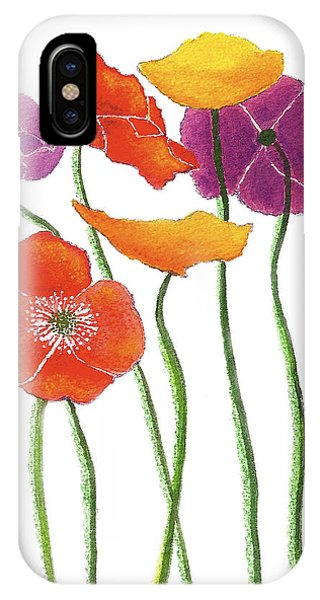 Poppies A Plenty IPhone Case