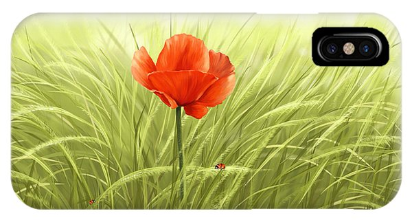 Poppies iPhone Case - Poppy by Veronica Minozzi