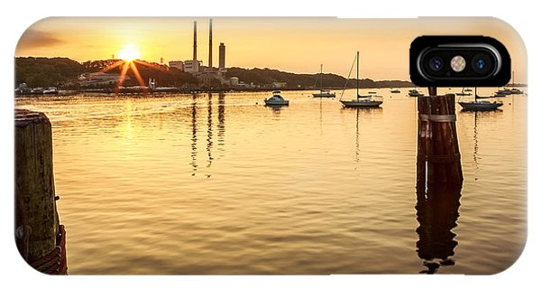IPhone Case featuring the photograph Port Jefferson by Mihai Andritoiu