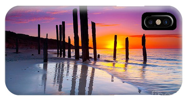 Port Willunga Sunset IPhone Case