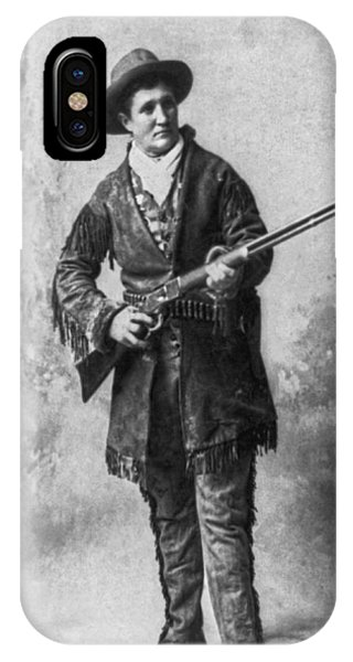1895 iPhone Case - Portrait Of Calamity Jane by Underwood Archives