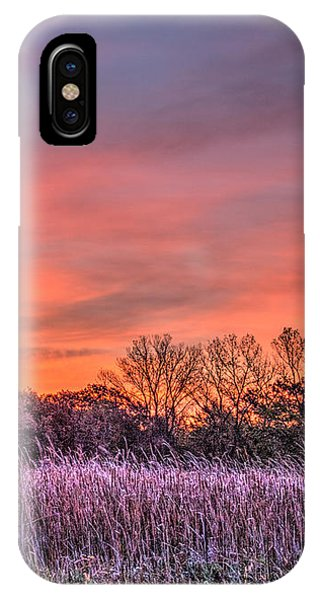 Illinois Prairie Moments Before Sunrise IPhone Case