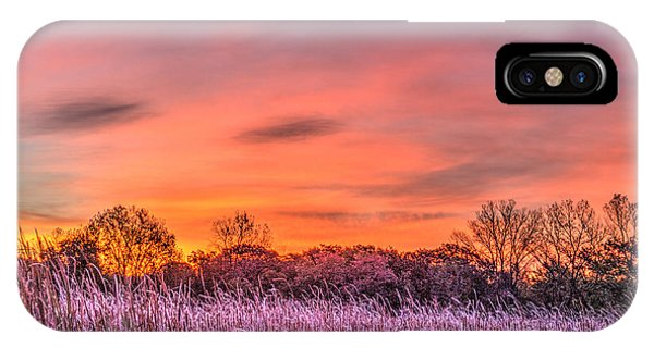 Illinois Prairie Moments Before Sunrise IPhone Case