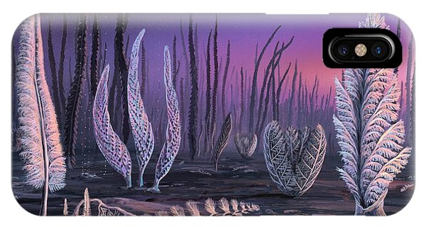 Pre-cambrian Life Forms Phone Case by Richard Bizley