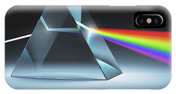 iPhone Case - Prism And Rainbow by Ktsdesign