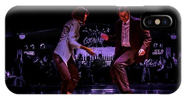 Pulp Fiction Dance 3 IPhone Case
