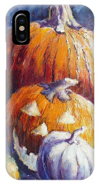 Pumpkin Happy Face IPhone Case