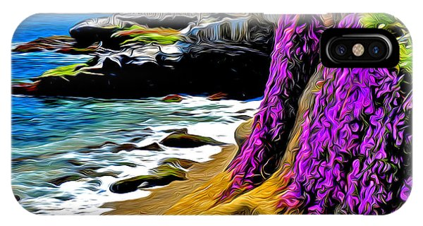 Purple Glory At La Jolla Cove IPhone Case