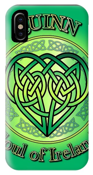 Quinn Soul Of Ireland IPhone Case