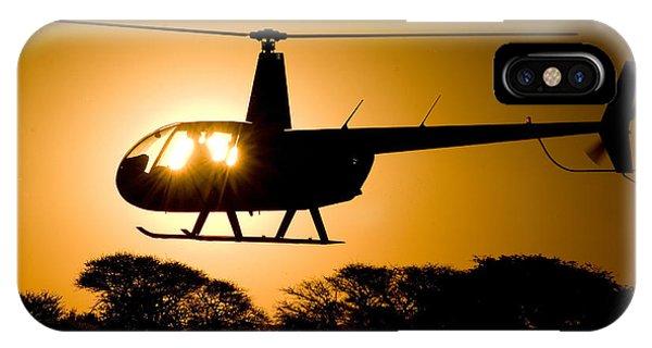 R44 Sunset IPhone Case