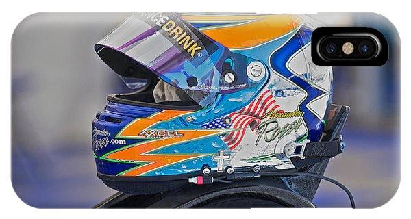 Racing Helmet 2 Phone Case by Dave Koontz