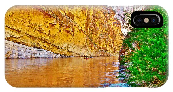 Rafting In Santa Elena Canyon In Big Bend National Park-texas IPhone Case