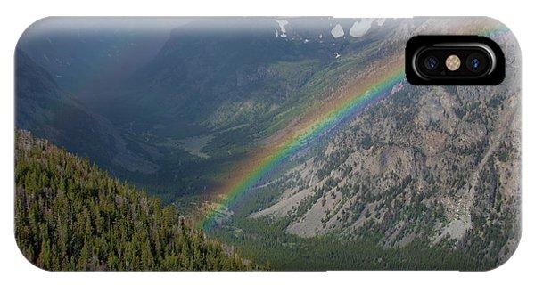 Rainbow At Beartooth Pass IPhone Case