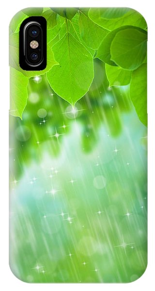 Leave iPhone Case - Rainforest by Atiketta Sangasaeng