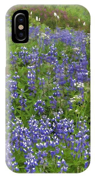 Rainier's Wildflowers IPhone Case
