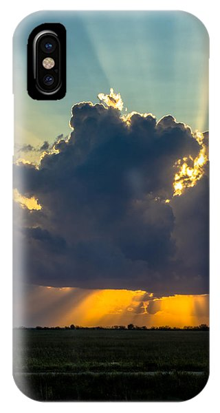 Rays From The Clouds IPhone Case