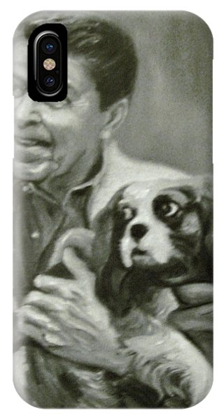 Reagan And Rex IPhone Case